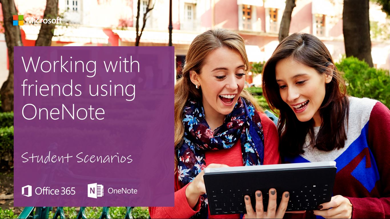 Student Basics - Working with friends using OneNote Onenote